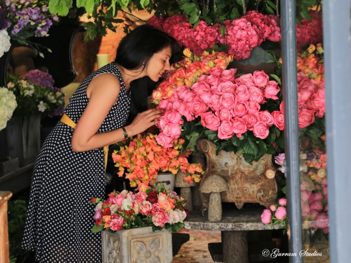 Beautiful flower shop